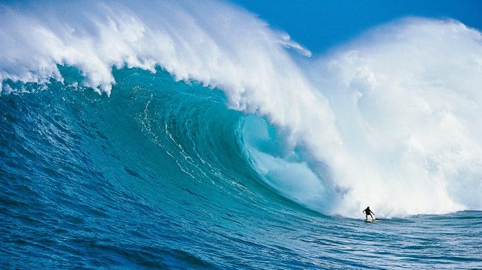 Dan Moore at Jaws. ©Tom Servais